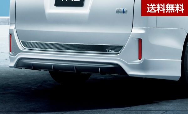 TRD ノア(8#系) [ハイブリッド 車 G,X ・ガソリン車 G,X] バックドアガーニッシュ (2017.7~ )  |大型商品は個人宅発送不可/法人・西濃運輸支店止