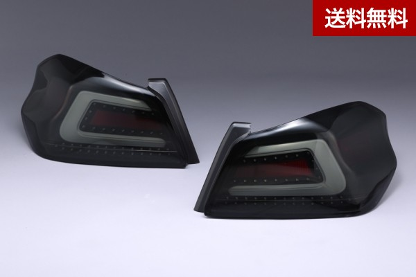 SUBARU WRX STI&S4(D~ ) VAB/VAG ARISING-1 LED TAIL LAMP SMOKE