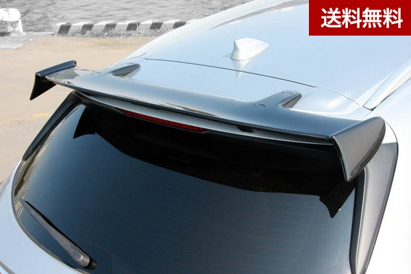 CX-8(KG) リアルーフスポイラー(MC前後) ピアノブラック塗装済 |全商品マツダ販売店発送不可・大型商品は個人宅発送不可