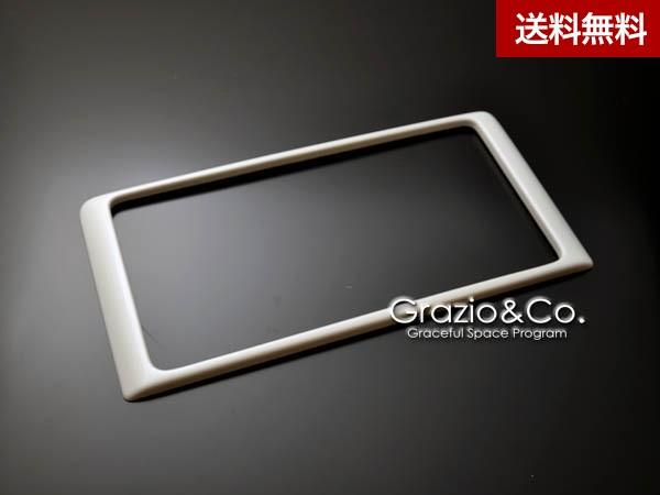 Grazio プリウスα ZVW40/41 カラードナンバーベース リヤ専用 ホワイトパ-ルクリスタルシャイン(070)