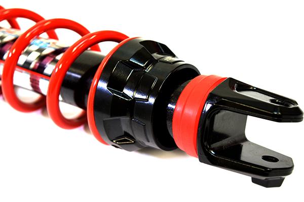 YSS hybrid DTG Tri-City 125 for doubletubegas shock