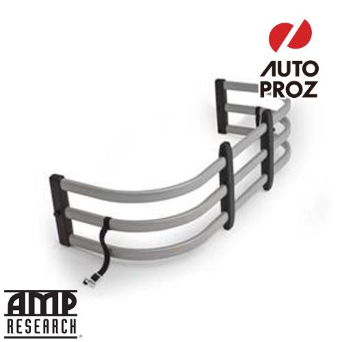 【USアンプリサーチ・直輸入正規品】 AMP Research ベッドエクステンダ― HD MAX シルバー ニッサン フロンティア 1998年式 現行以降、ダットサントラックD22 1997-2002年式用