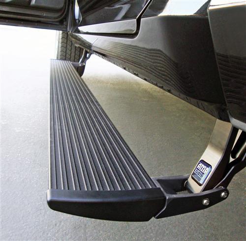【US直輸入正規品】AMP Research(アンプリサーチ)電動パワーステップ (サイドステップ 左右) Dodge Ram(ラム) 2500/3500クルー/メガキャブ 2010-2013年