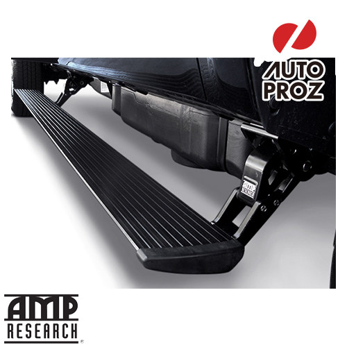 Amp Research アンプリサーチ Electric Steps Left Side Fits Chevrolet Silverado Extended Crew Cab In 2017 Sel Only