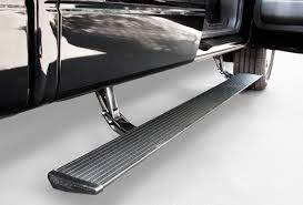 【US直輸入正規品】AMP Research(アンプリサーチ)電動パワーステップ (サイドステップ 左右) GMC Sierra (シエラ) エクステンド/クルーキャブ 2011-2013年※ディーゼル車のみ適合
