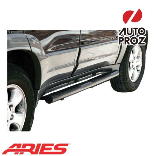 [USアリーズ 直輸入正規品] Aries フォード/マツダ エスケープ/トリビュート 3インチラウンドサイドバー ブラック