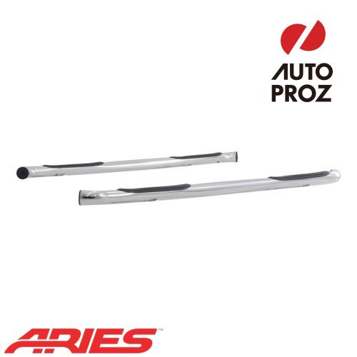 [USアリーズ 直輸入正規品] Aries シボレー/GMC トラバース/アカディア 3インチラウンドサイドバー ステンレス製
