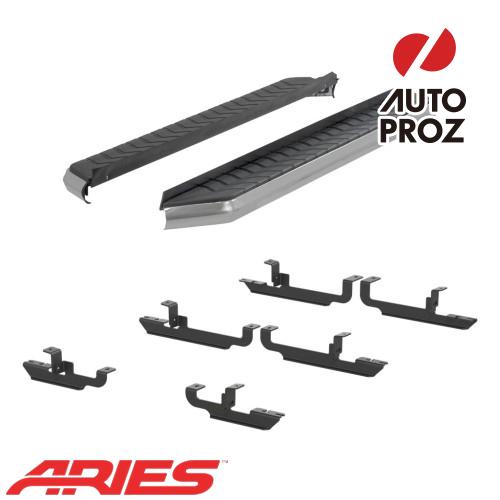 [USアリーズ 直輸入正規品] Aries ジープ レネゲード 5インチ ランニングボード/サイドステップ シルバー