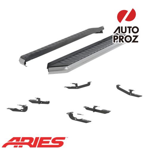 [USアリーズ 直輸入正規品] Aries ジープ チェロキー 5インチランニングボード シルバー