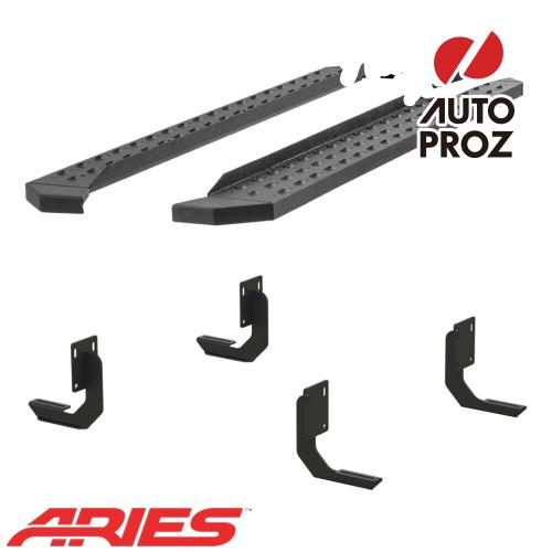 [USアリーズ 直輸入正規品] Aries フォード F250/F350/F450 スーパーキャブ 6.5インチサイドステップ ブラック