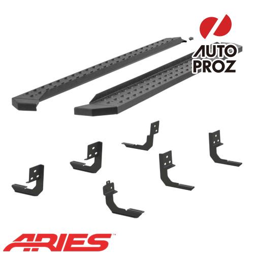 [USアリーズ 直輸入正規品] Aries ダッジ ラム ラム 2500/3500 メガキャブ 6.5インチサイドステップ ブラック