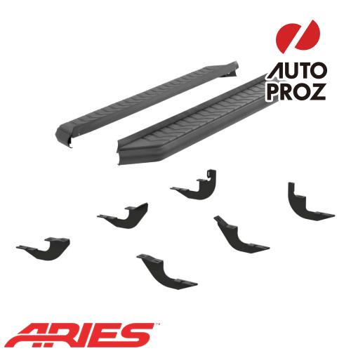 [USアリーズ 直輸入正規品] Aries ホンダ MDX 5インチランニングボード ブラック