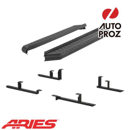 [USアリーズ 直輸入正規品] Aries ホンダ CR-V 5インチランニングボード ブラック