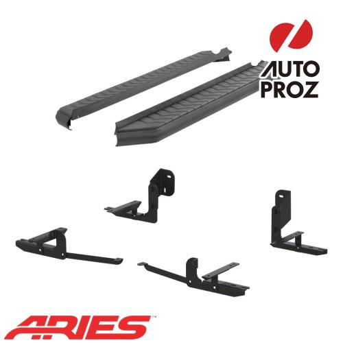 [USアリーズ 直輸入正規品] Aries 日産/ニッサン パスファインダー 5インチランニングボード ブラック
