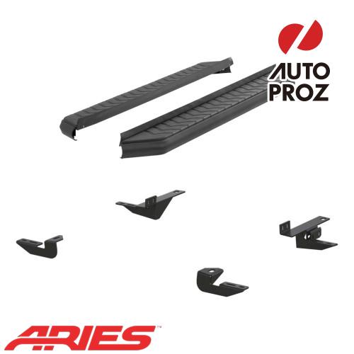 [USアリーズ 直輸入正規品] Aries トヨタ RAV4 5インチランニングボード ブラック