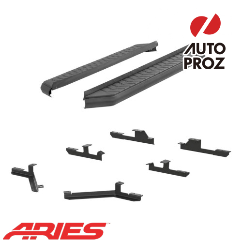 [USアリーズ 直輸入正規品] Aries シボレー/GMC エクイノックス/テレーン 5インチランニングボード ブラック
