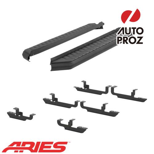 [USアリーズ 直輸入正規品] Aries ジープ レネゲード 5インチランニングボード ブラック