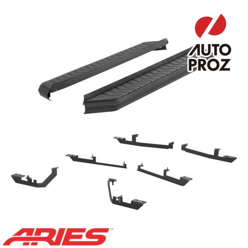 [USアリーズ 直輸入正規品] Aries KIA ソレント 5インチ ランニングボード/サイドステップ ブラック