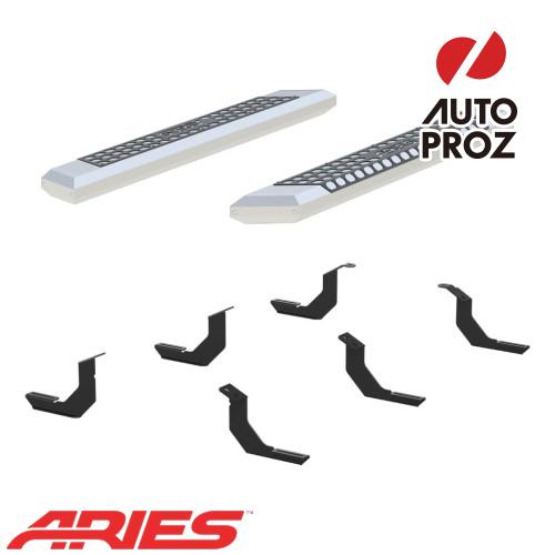 [USアリーズ 直輸入正規品] Aries トヨタ タンドラ レギュラーキャブ 5.5インチサイドステップ シルバー