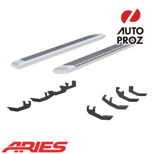 [USアリーズ 直輸入正規品] Aries ホンダ リッジライン 5.5インチサイドステップ シルバー