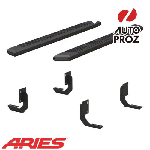 [USアリーズ 直輸入正規品] Aries フォード F250/F350/F450 スーパーキャブ 5.5インチサイドステップ ブラック