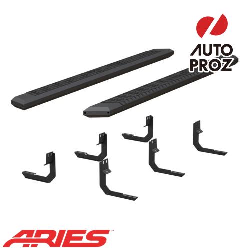 [USアリーズ 直輸入正規品] Aries 日産/ニッサン タイタン XD クルーキャブ 5.5インチサイドステップ ブラック