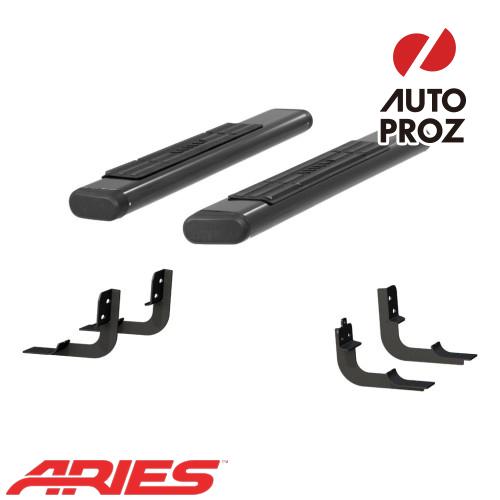 [USアリーズ 直輸入正規品] Aries ダッジ ラム 1500/2500/3500 レギュラーキャブ 6インチオーバルサイドバー アルミ製