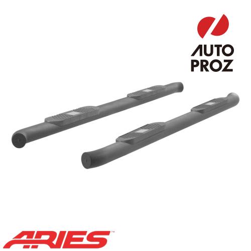 [USアリーズ 直輸入正規品] Aries フォード F150 スーパークルー 4インチラウンドサイドバー アルミ製