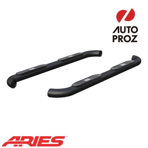 [USアリーズ 直輸入正規品] Aries ダッジ ラム 1500/2500/3500 クルーキャブ 4インチラウンドサイドバー アルミ製