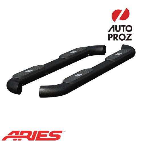 [USアリーズ 直輸入正規品] Aries 日産/ニッサン タイタン XD 4インチラウンドサイドバー アルミ製