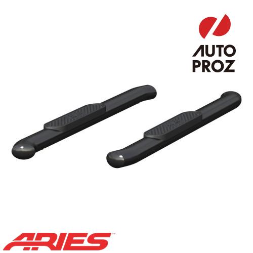 [USアリーズ 直輸入正規品] Aries ダッジ ラム 1500/2500/3500 レギュラーキャブ 4インチオーバルサイドバー ブラック