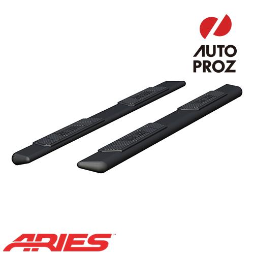 [ARIES 正規品] ラム 1500 クルーキャブ 2019年以降現行 5.5インチ ランニングボード ブラックパウダーコート