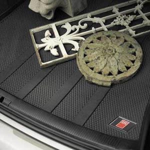 【Audi直輸入純正】アウディ A4 S4 セダン2002-2005年式カーゴトレイ カーゴマット(ラゲッジ用ラバーマット カーゴトレー トランクマット)