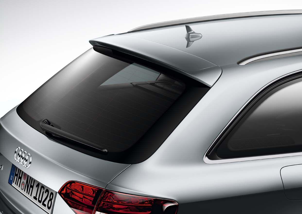 【Audi直輸入純正】アウディ A4 Avant(アバント)2009年式以降ルーフエッジ リアスポイラー