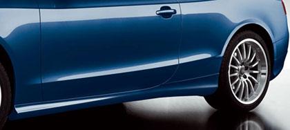 【Audi直輸入純正】アウディ A5 クーペ2008年式以降ボディサイドモールディング(サイドガーニッシュ/ドアモール)