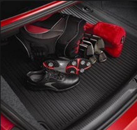 【Audi直輸入純正】アウディ A52008年式以降 A4 2009年式以降カーゴトレイ カーゴマット(ラゲッジ用ラバーマット カーゴトレー トランクマット)