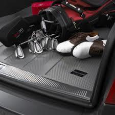 【Audi直輸入純正】アウディ A8L2004年式以降カーゴトレイ カーゴマット(ラゲッジ用ラバーマット カーゴトレー トランクマット)