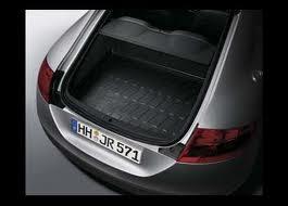 【Audi直輸入純正】アウディ TT/TTS2007年式以降カーゴトレイ カーゴマット(ラゲッジ用ラバーマット カーゴトレー トランクマット)