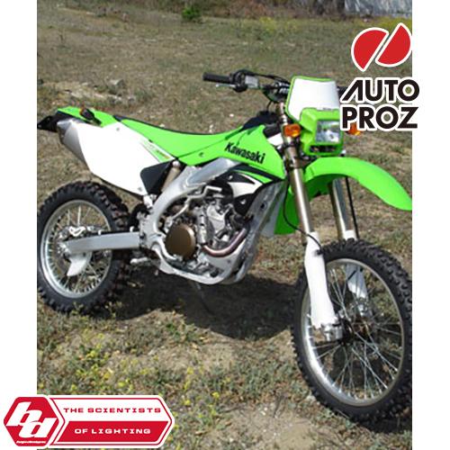 BajaDesigns 正規品 カワサキ KLX450R 全年式 デュアルスポーツキット ホワイト × グリーン