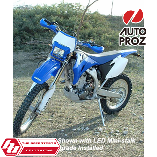 BajaDesigns 正規品 ヤマハ WR250F 2007-2014年 WR450F 2007-2011年 デュアルスポーツキット ホワイト × ブルー