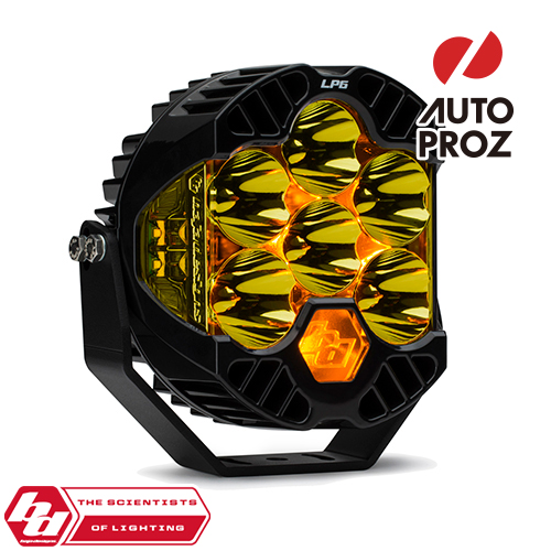 [BajaDesigns 正規品] LP6 Proシリーズ 6インチ LED スポットライト アンバー