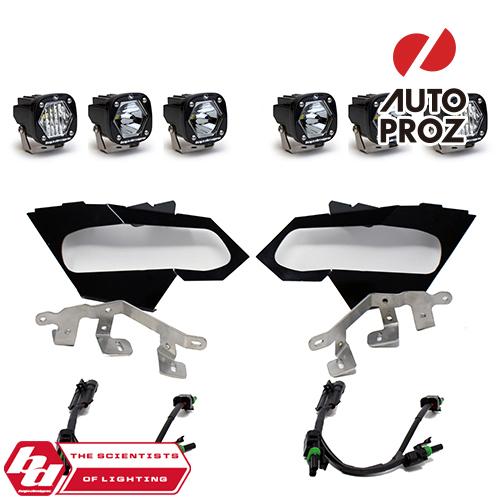 交換無料 バハデザイン ライトバー フォグ LED ヘッドライト BajaDesigns ヘッドライトキット 正規品 スポット カンナム X3 S1シリーズ SALE