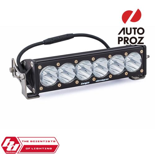 [BajaDesigns 正規品] OnX6シリーズ 10インチ LED ライトバー スポット ストレートタイプ ホワイト