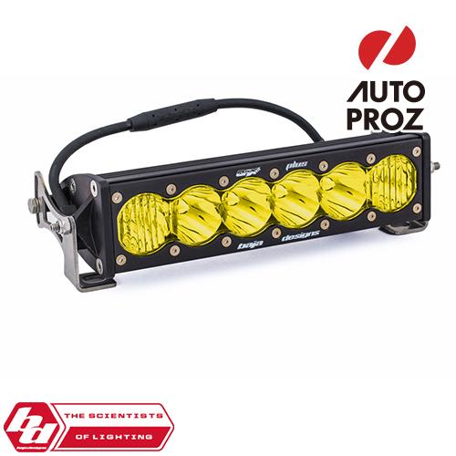 BajaDesigns 正規品 OnX6シリーズ 10インチ LED ライトバー ドライビングコンボ ストレートタイプ アンバー