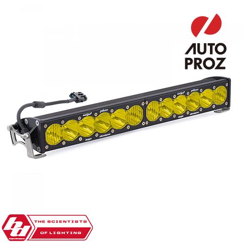 BajaDesigns 正規品 OnX6シリーズ 20インチ LED ライトバー ドライビングコンボ ストレートタイプ アンバー