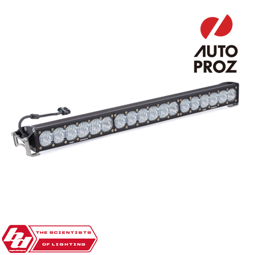 [BajaDesigns 正規品] OnX6シリーズ 30インチ LED ライトバー ワイドドライビング ストレートタイプ ホワイト