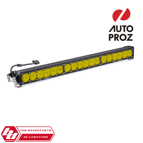 [BajaDesigns 正規品] OnX6シリーズ 30インチ LED ライトバー ワイドドライビング ストレートタイプ アンバー