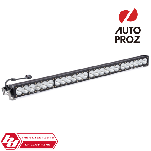 [BajaDesigns 正規品] OnX6シリーズ 40インチ LED ライトバー スポット ストレートタイプ ホワイト