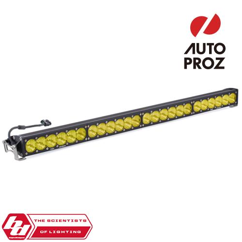 [BajaDesigns 正規品] OnX6シリーズ 40インチ LED ライトバー ワイドドライビング ストレートタイプ アンバー