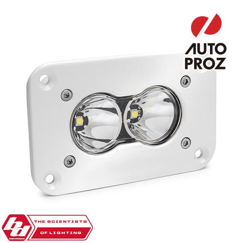 [BajaDesigns 正規品] S2 Proシリーズ LED スポットライト ※フラッシュマウント・本体カラー:ホワイト